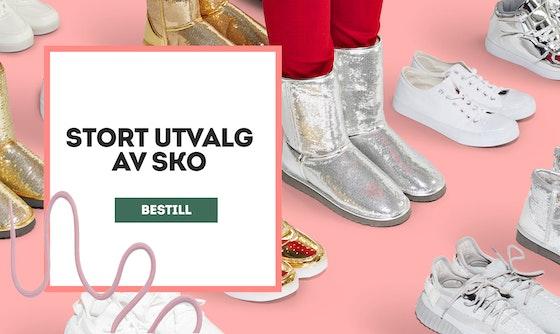 Bestill sko. Klikk for å bestille