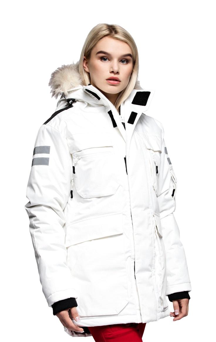 Parkas Kodiak Girl Off White – levering februar