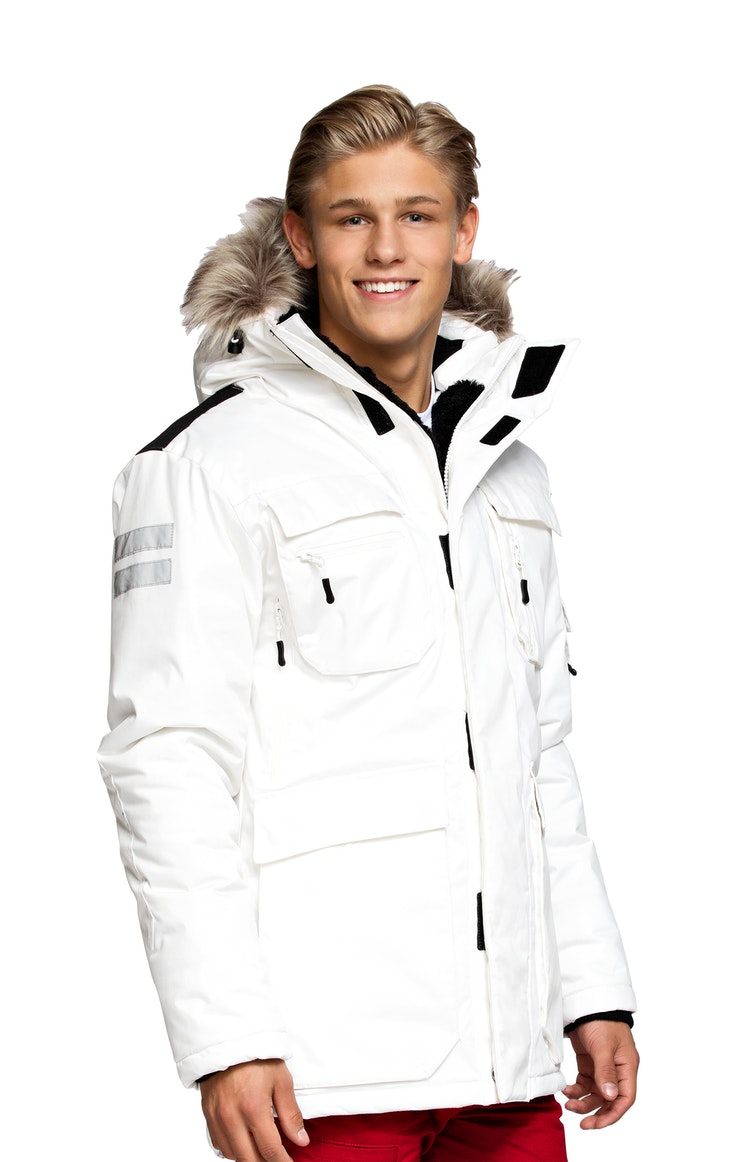 Parkas Kodiak Unisex Off White