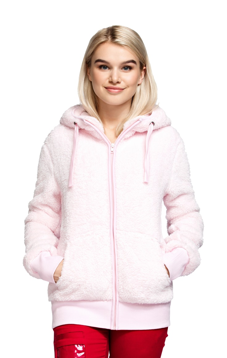 Fleece Girl Teddy Rosa