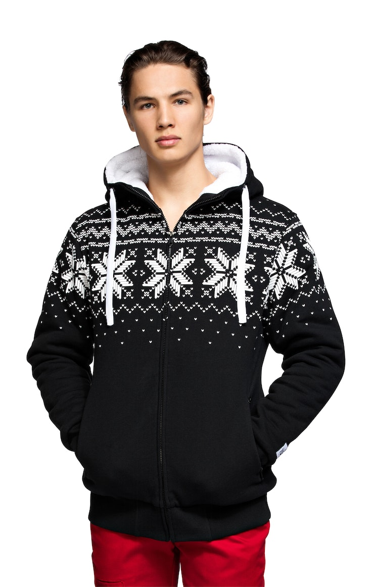 Fleece Unisex College Snow Sort