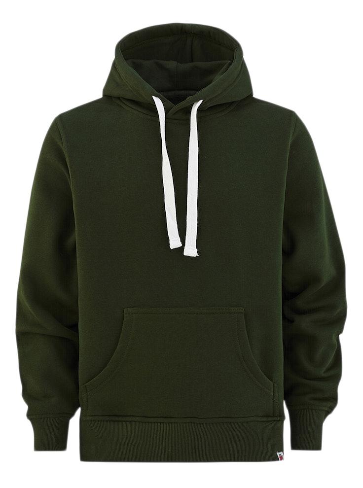 Hood No Print Flaskegrønn