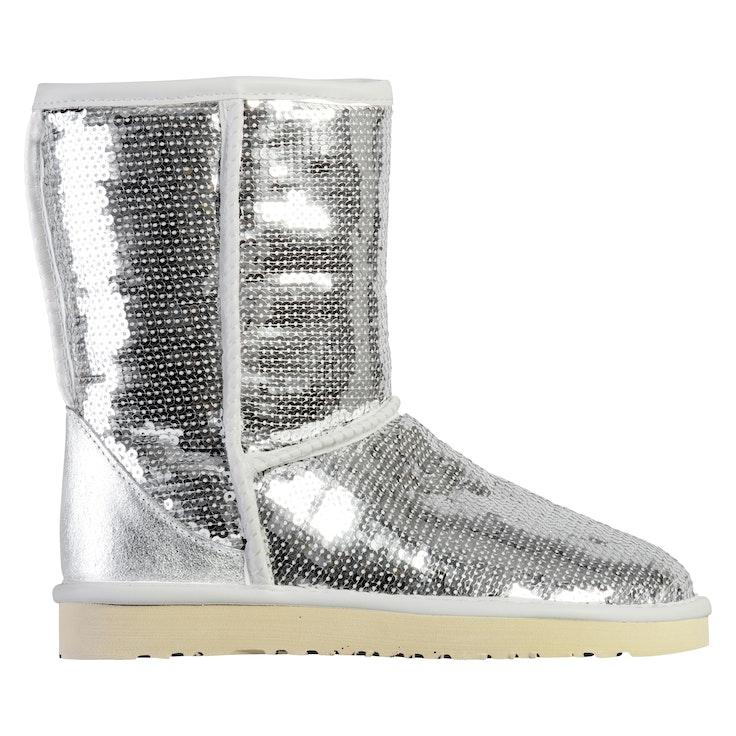 Boots Høy Sølv