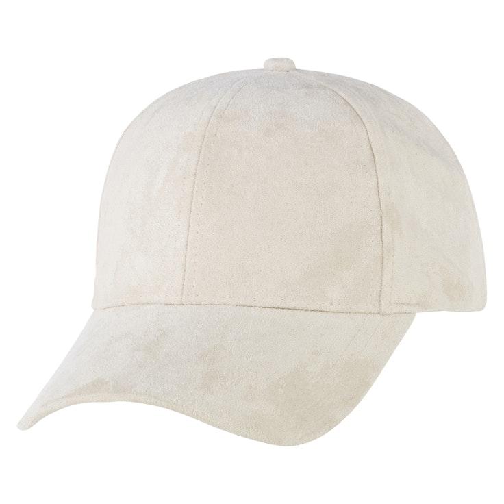 Cap Velvet Hvit