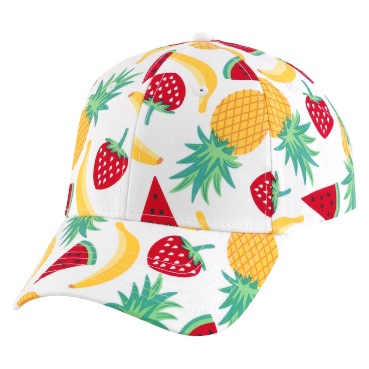 Cap Fruits Hvit