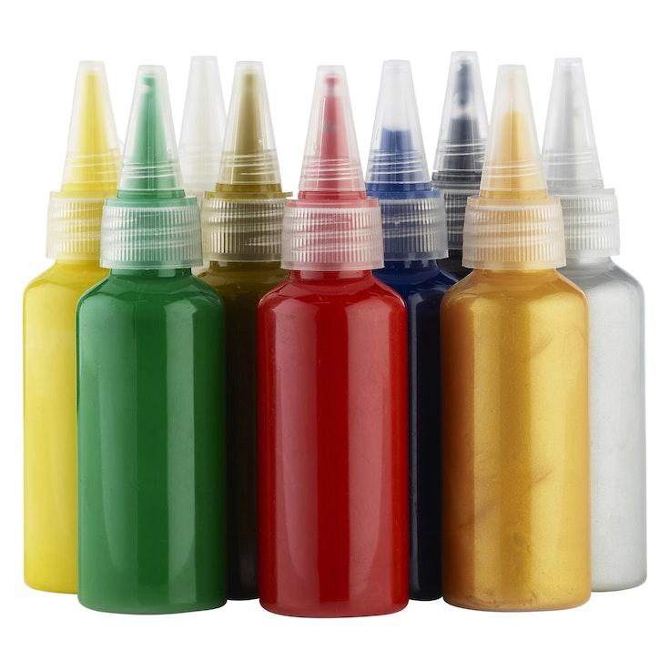 6 Tekstilfarger
