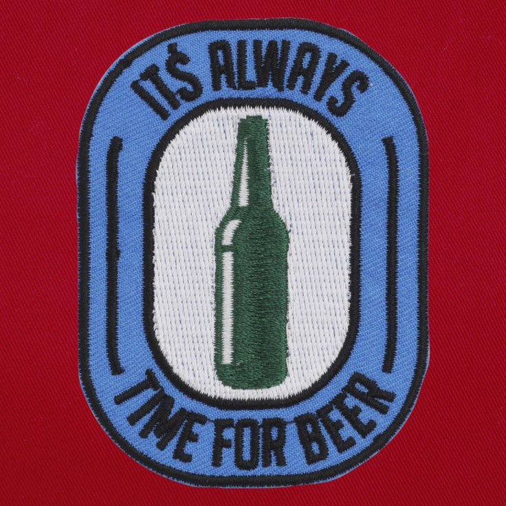 Badge Time For Beer - 04