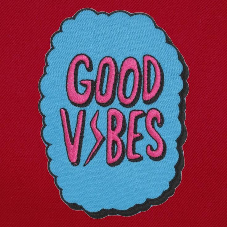 Badge Good Vibes - 34