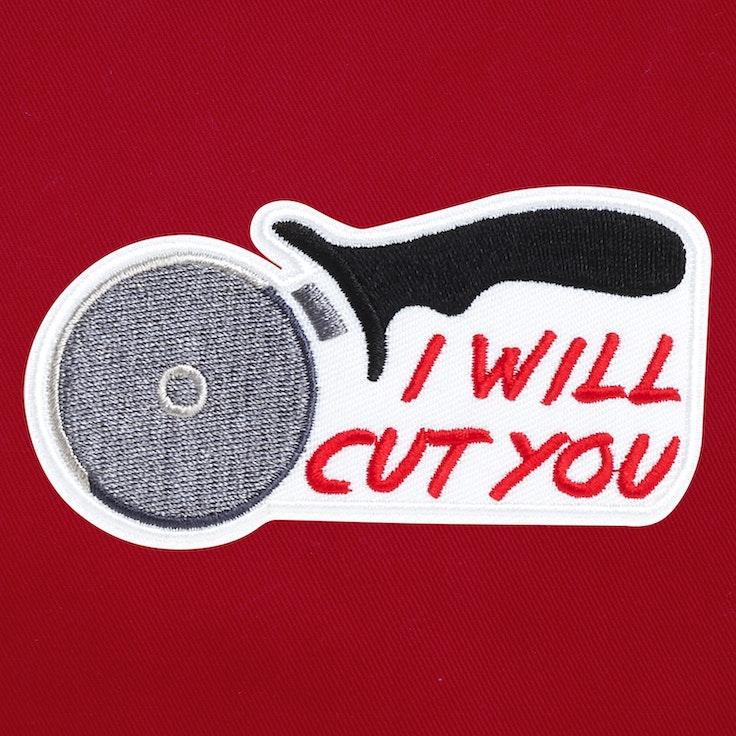 Badge Cut You - 72