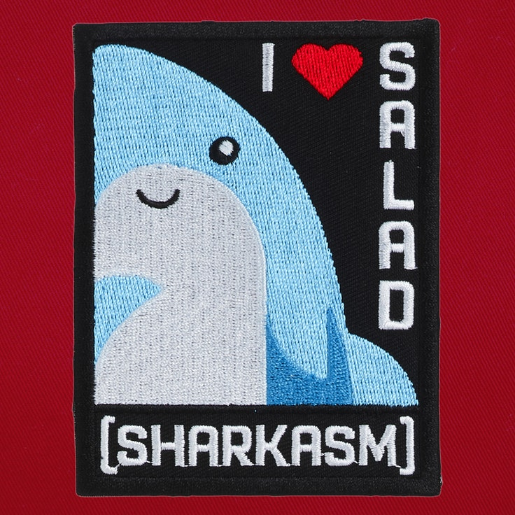 Badge Sharkasm - 84