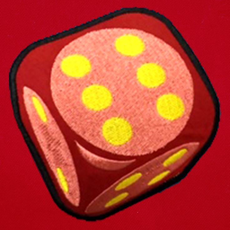Badge Dice 6 - 103