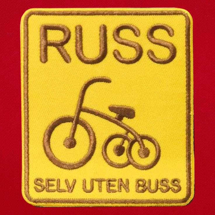 Badge Russ uten Buss - 118
