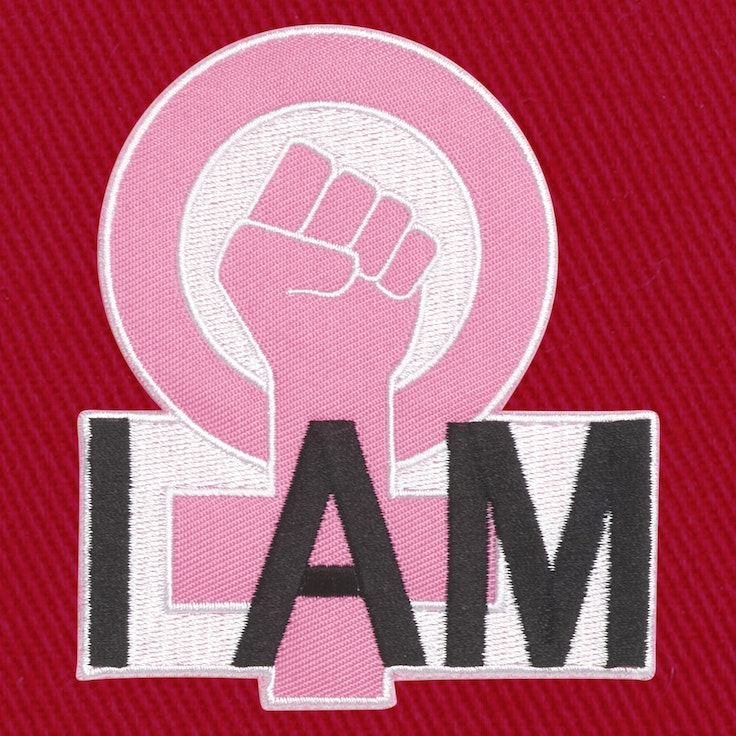 Badge I Am Feminist - 130