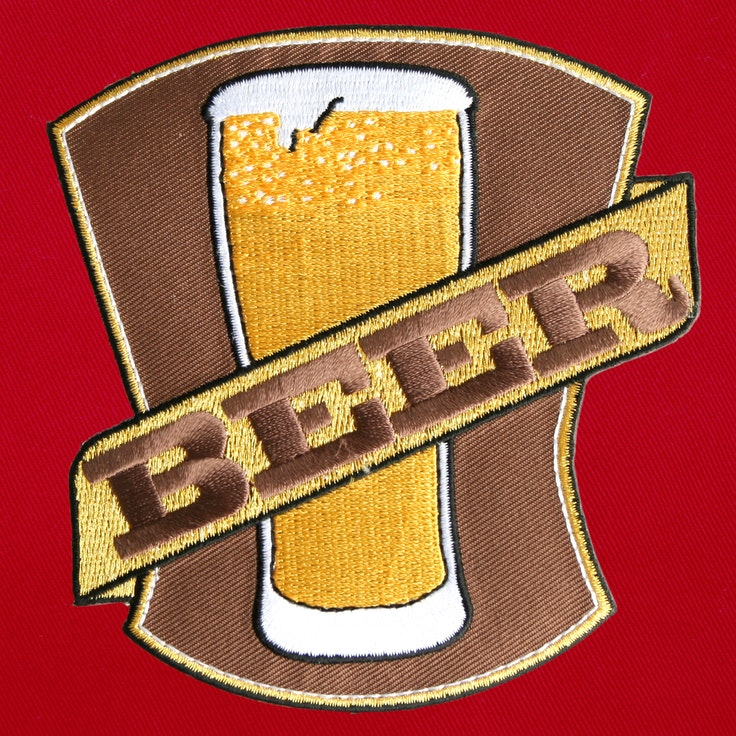 Badge Pint Beer - 202