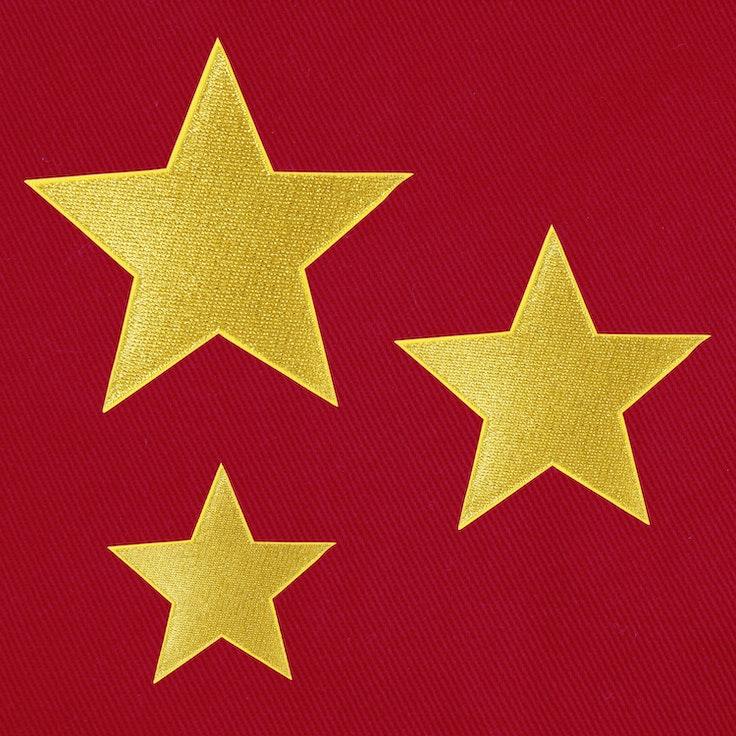 Stjerner 3-Pack Gull
