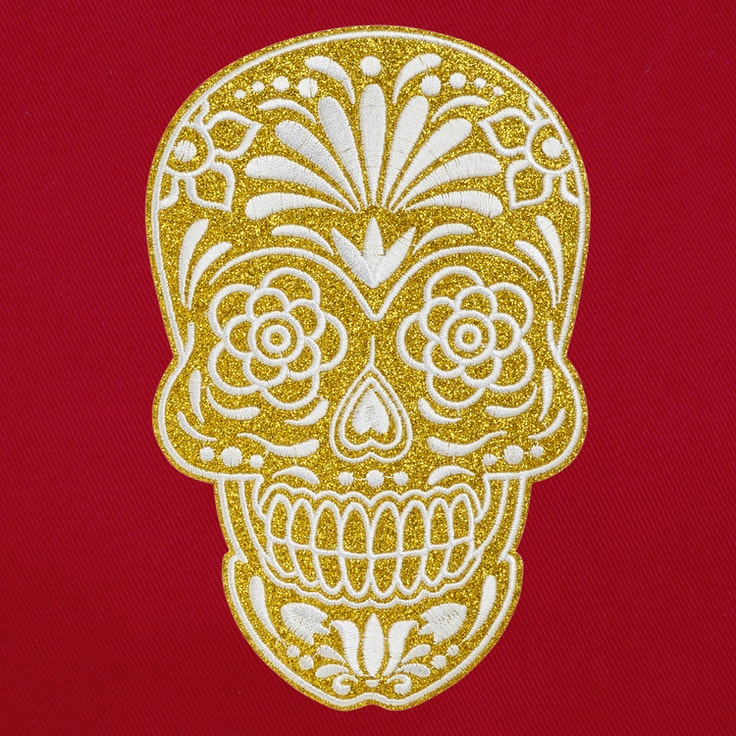 Ryggbadge - Scull
