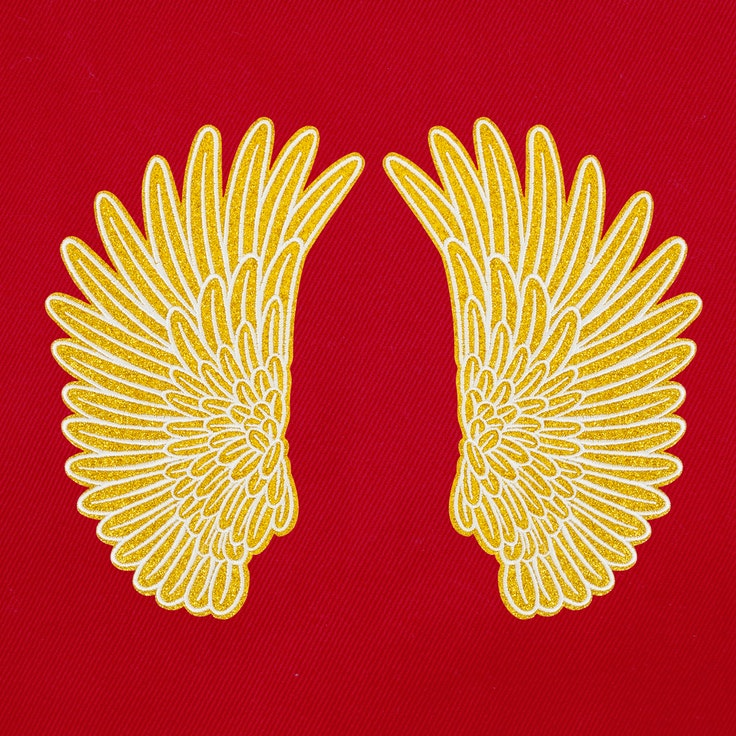 Ryggbadge - Wings