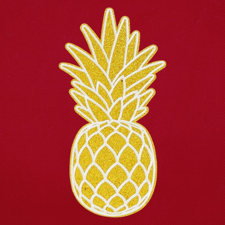 Ryggbadge - Pineapple
