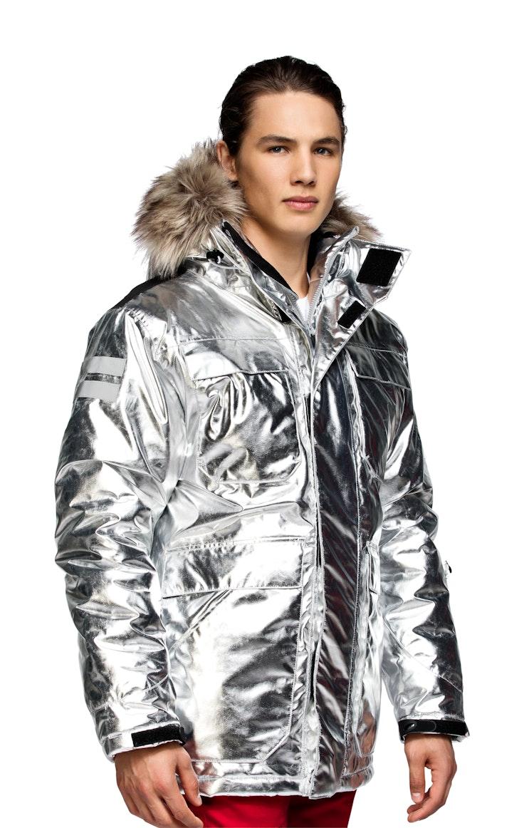 Parkas Unisex Arctic Sølv