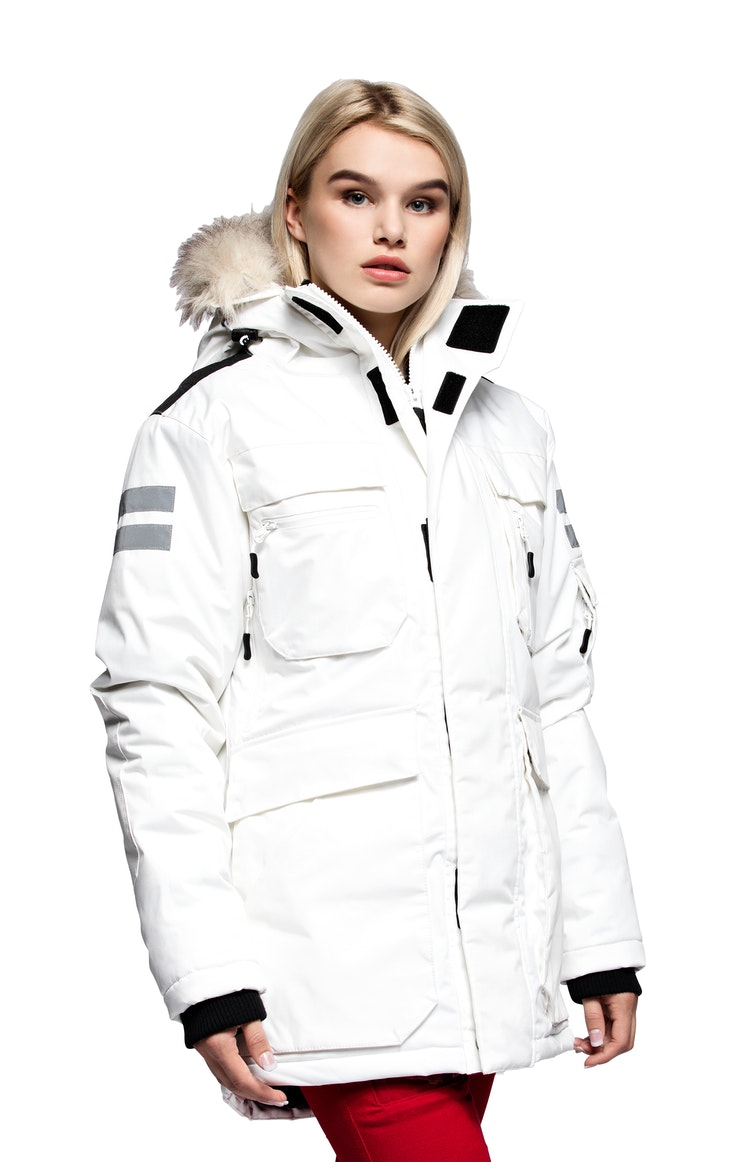 Parkas Girl Kodiak White