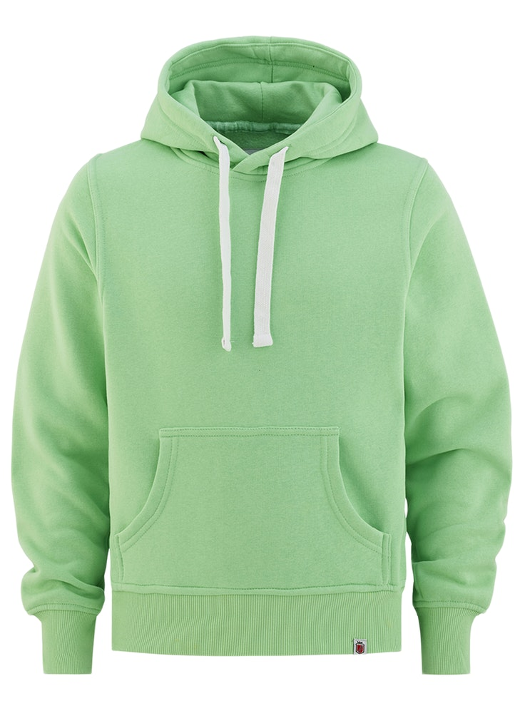 Hood No Print Pastellgrønn