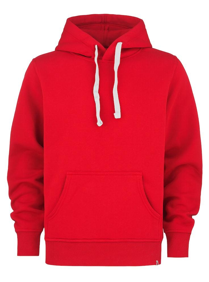 Hood No Print Rød