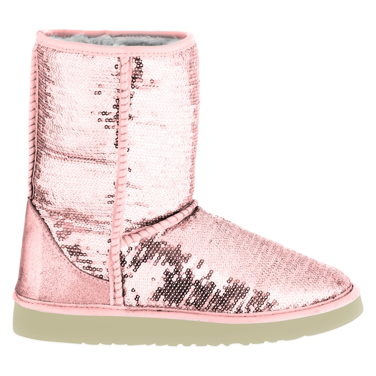 Boots Høy Rosa