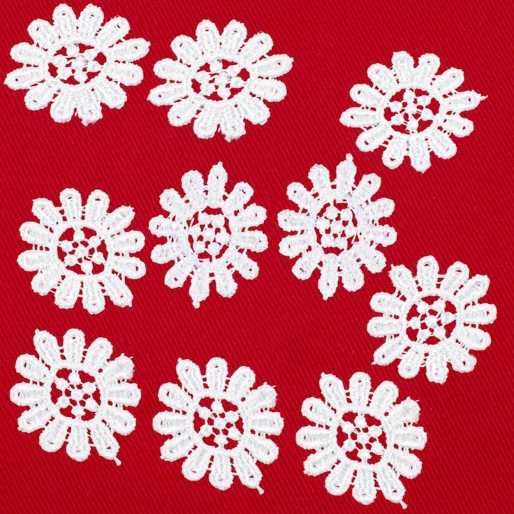 Heklede Blomster