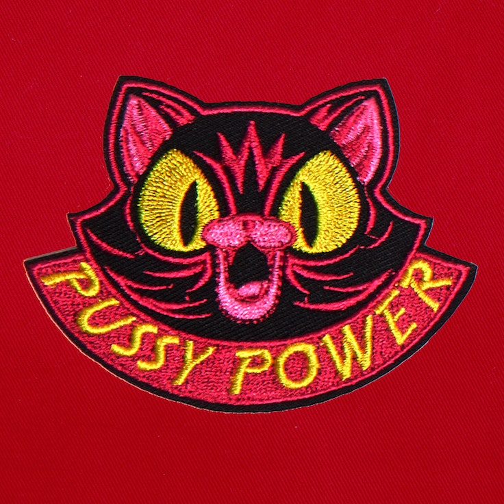 Badge Pussy Power - 218