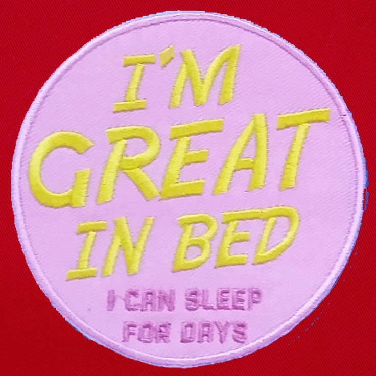 Badge Great in bed - 61