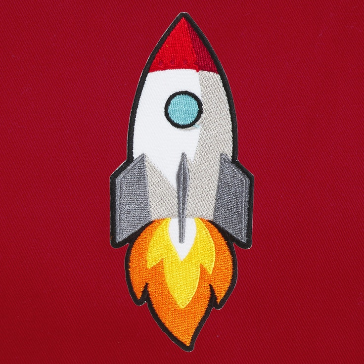 Badge Rocket - 65