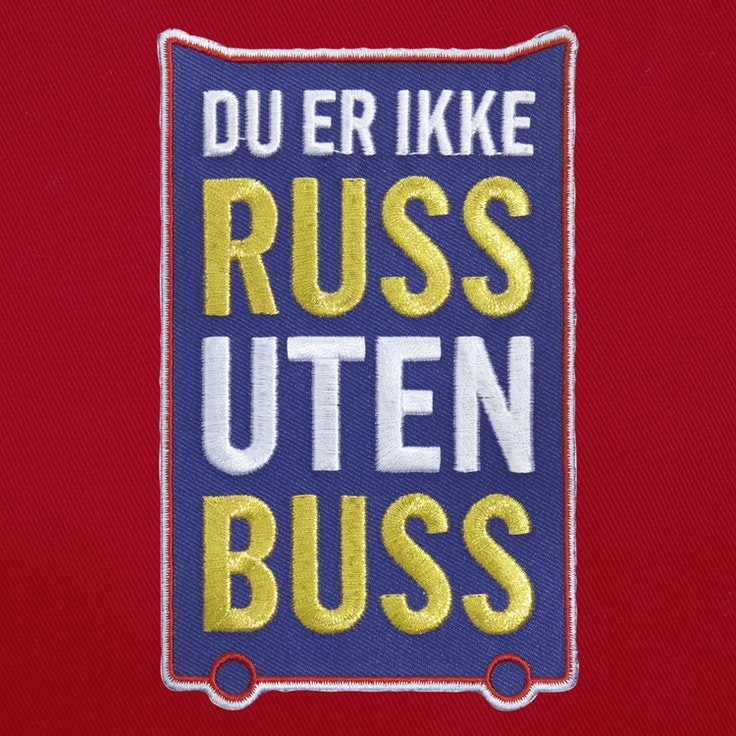 Badge Ikke Russ Uten Buss - 121