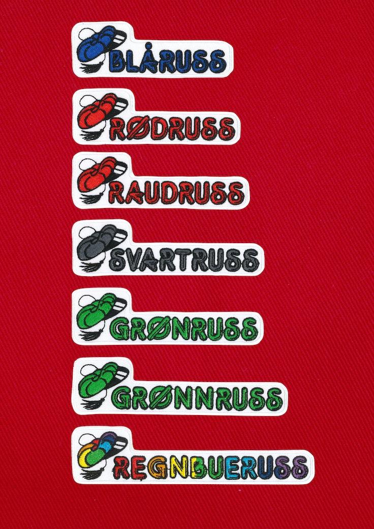 Badge Russefarge - 146