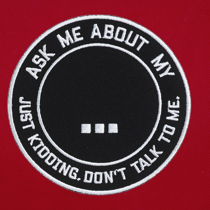 Badge Ask Me - 161