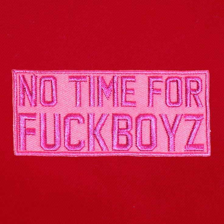 Badge FuckBoys Pink - 192