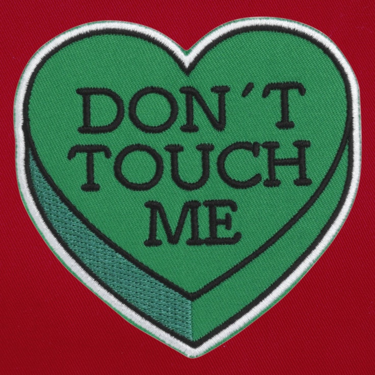 Badge Don't Touch Me - 35