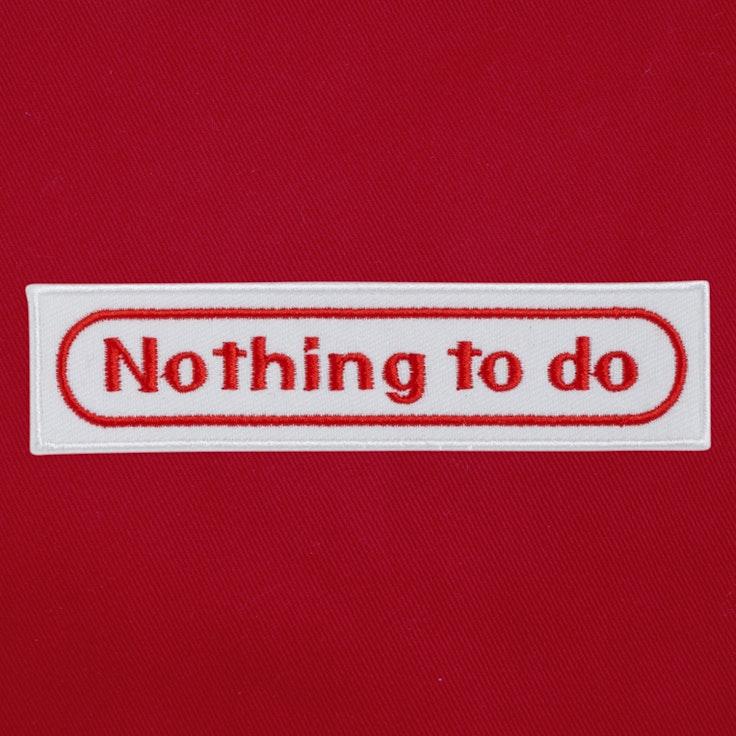 Badge Nothing - 79