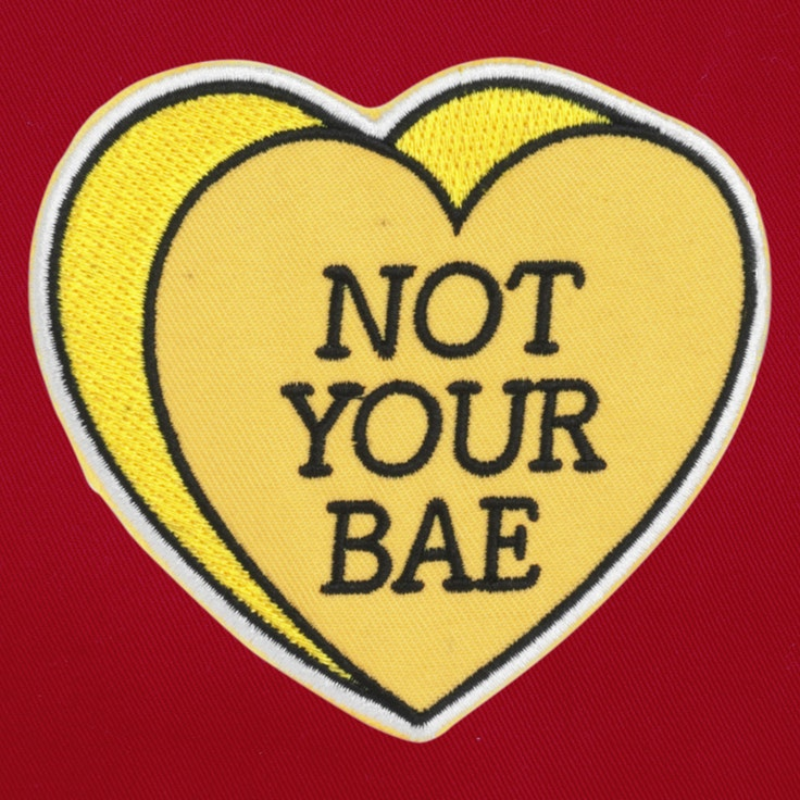 Badge Not your BAE - 85