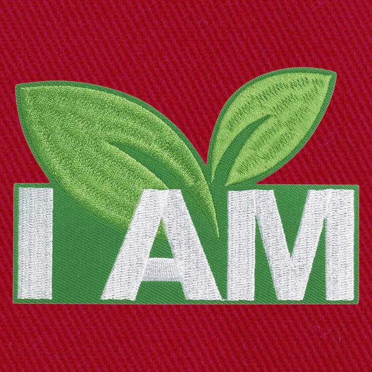 Badge I Am Green - 132