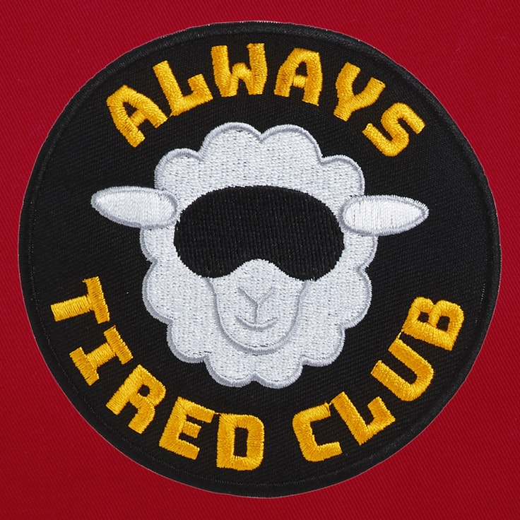 Badge Always Tired - 162